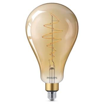 Philips E27 Giant LED-pære 6,5W gold dimbar