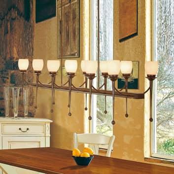 Menzel Chateau – pendellampe, 12 lyskilder