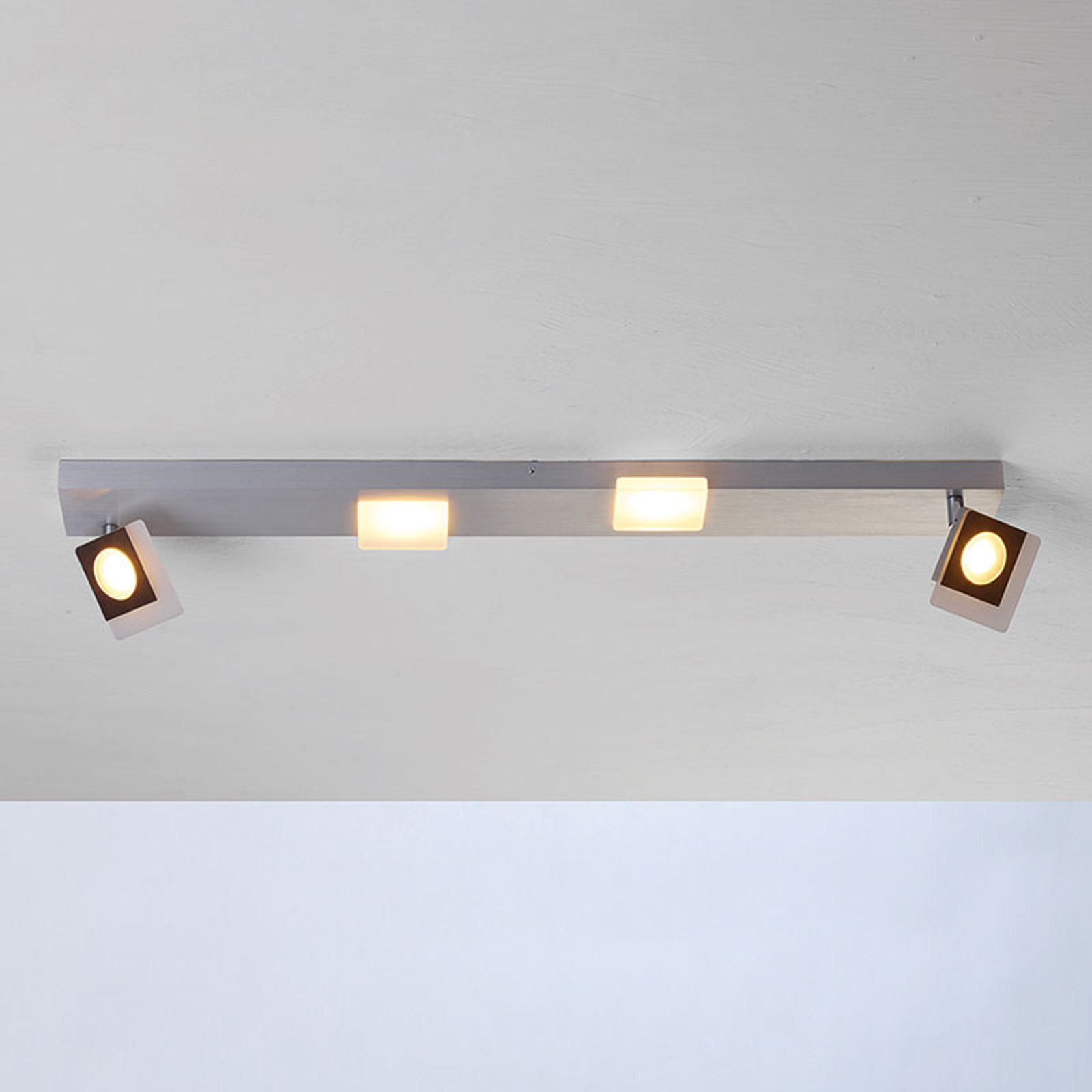 Bopp Session - LED-Deckenleuchte mit zwei Spots