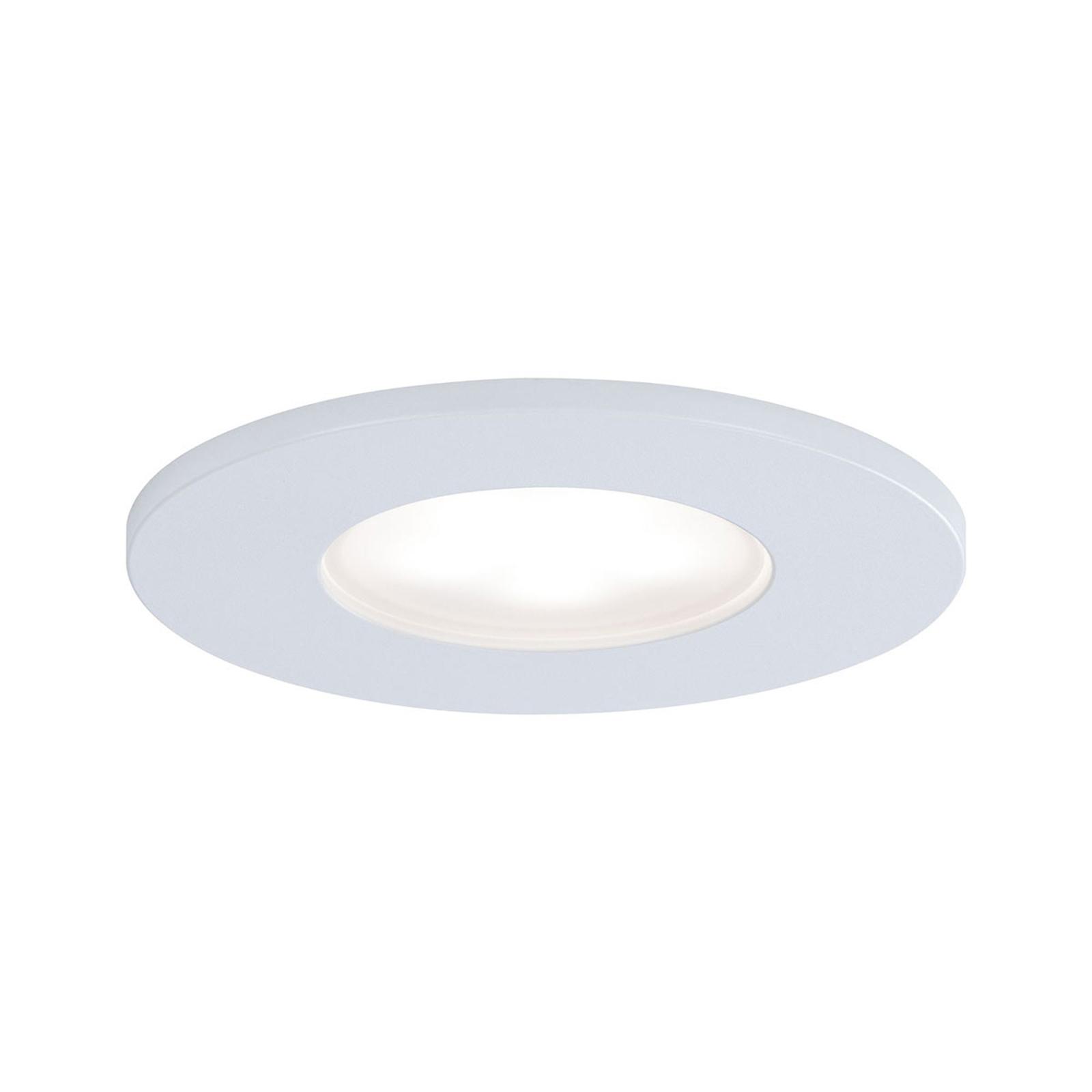 Paulmann spot encastré LED Calla fixe blanc