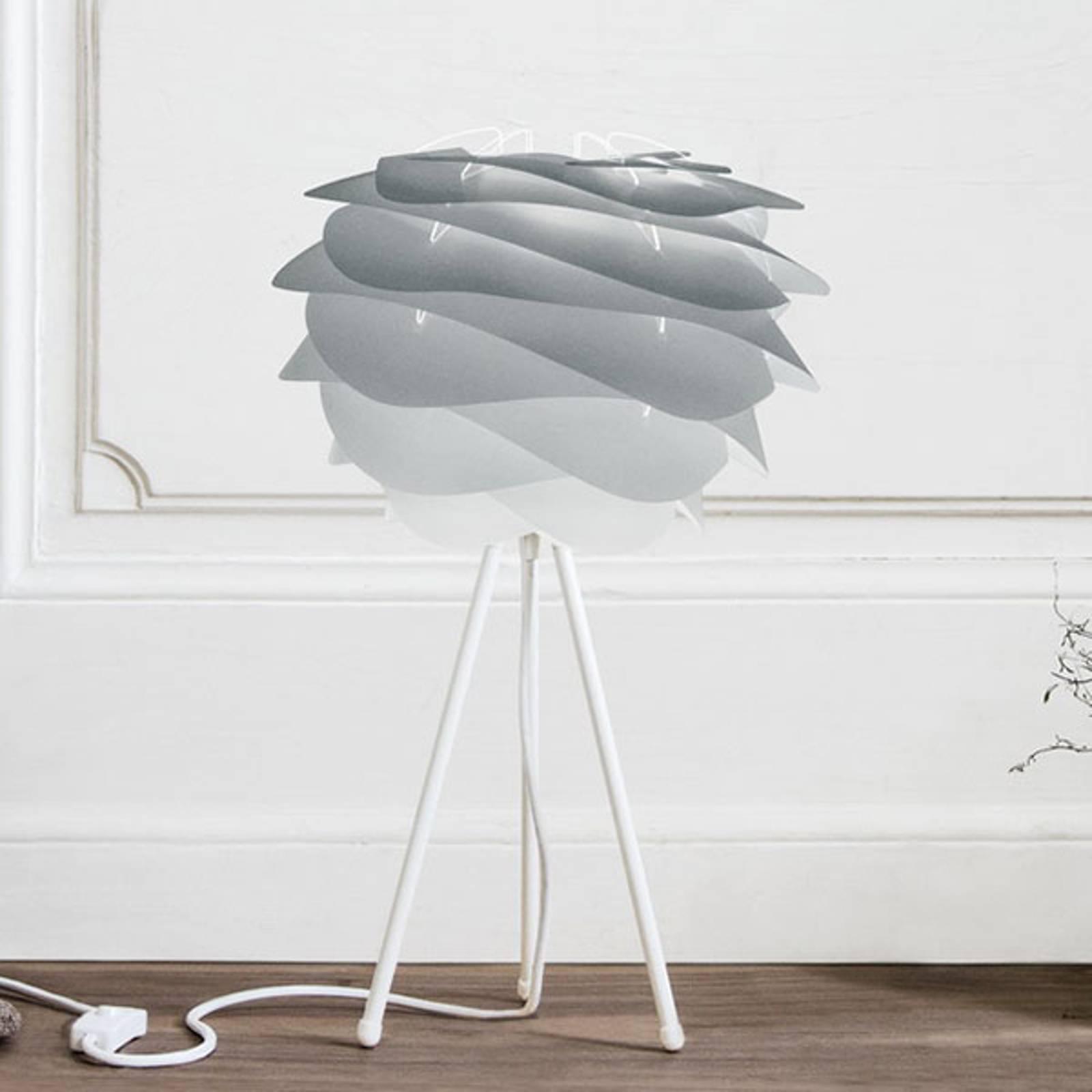 UMAGE Carmina Mini tafellamp grijs/tripod wit