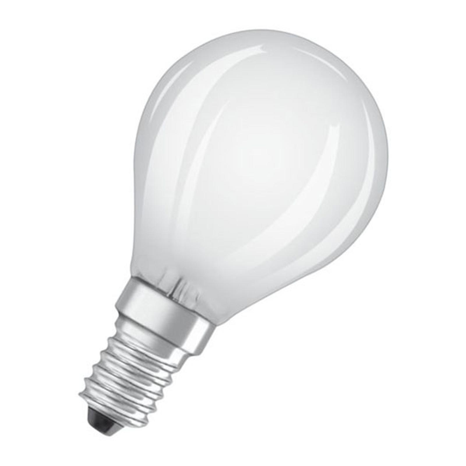 OSRAM Classic P LED-Lampe E14 2,5W 2.700K matt