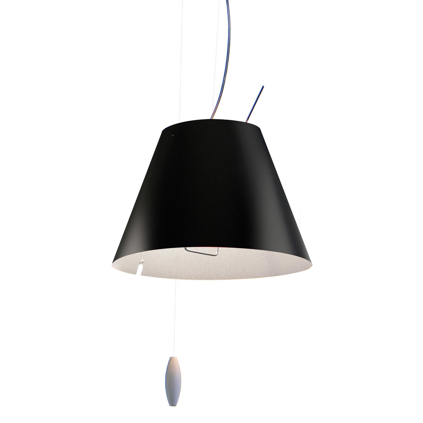 Luceplan Costanzina lampa wisząca czarna