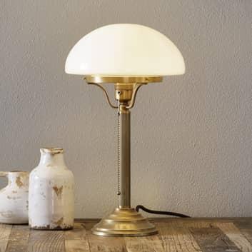 Klassisk bordslampa HARI av mässing