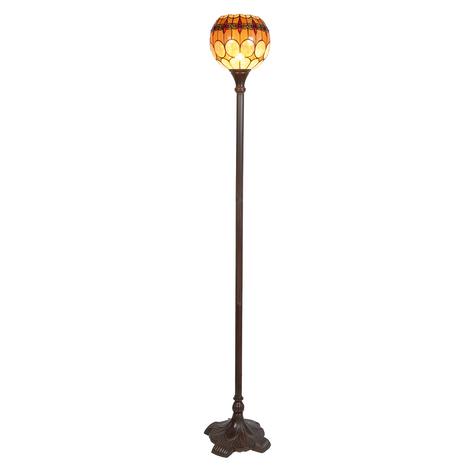 Niley - staande lamp in Tiffany-stijl