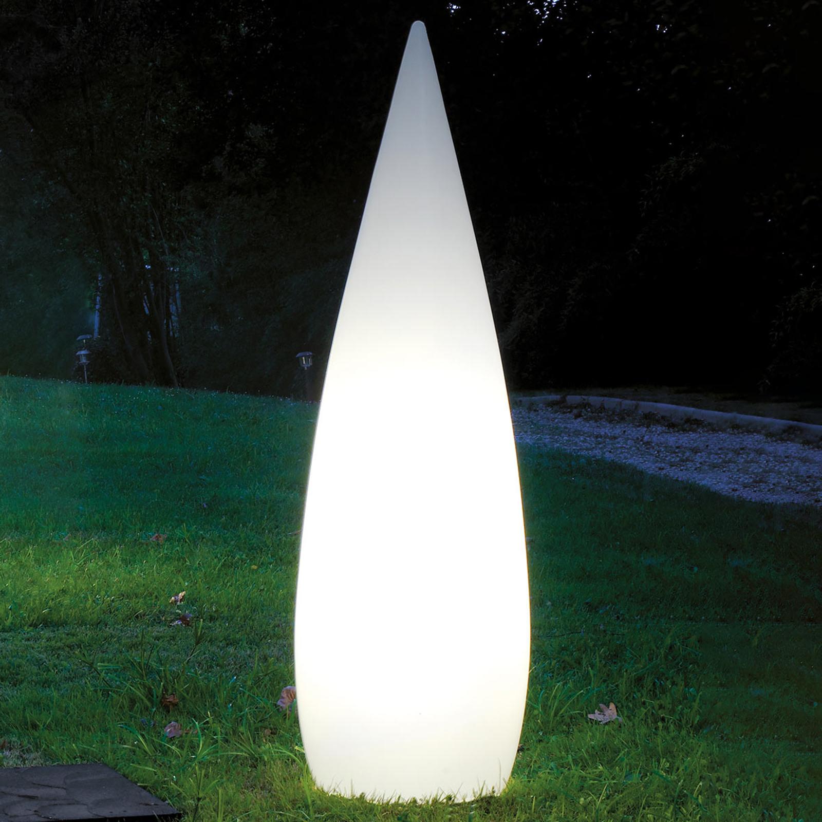 Standortfeste LED-Außendekolampe Kanpazar A 150 cm