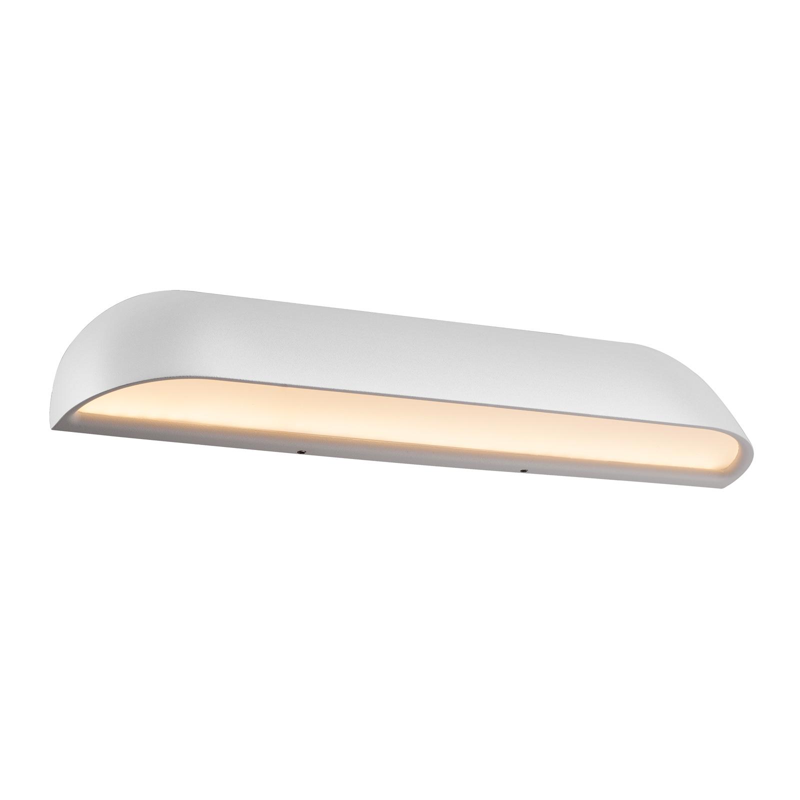 LED-Außenwandleuchte Front 36, weiß