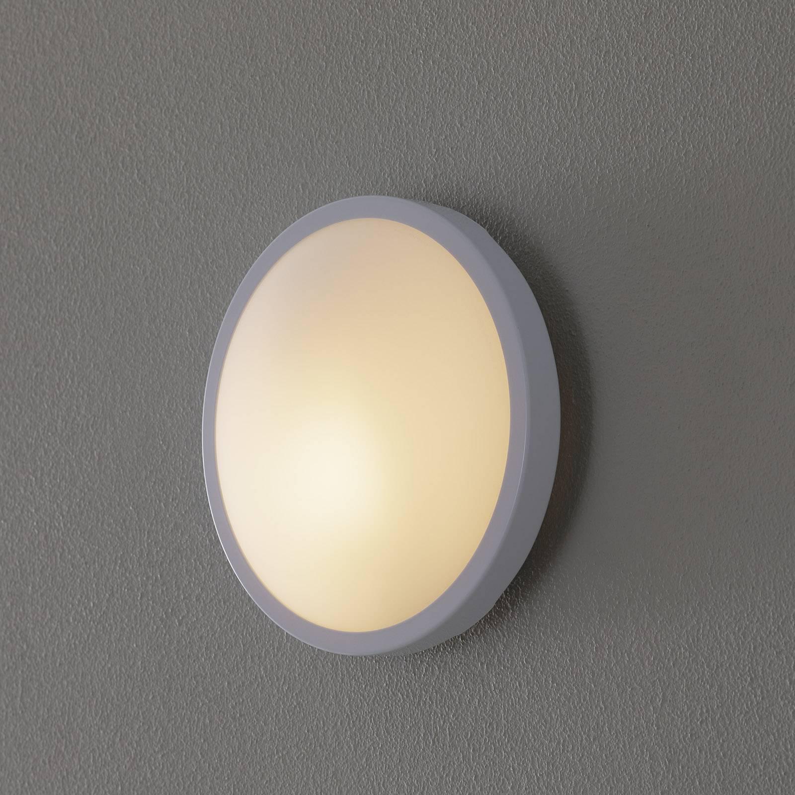 PLAZA plafond- en wandlamp 21,5 cm wit