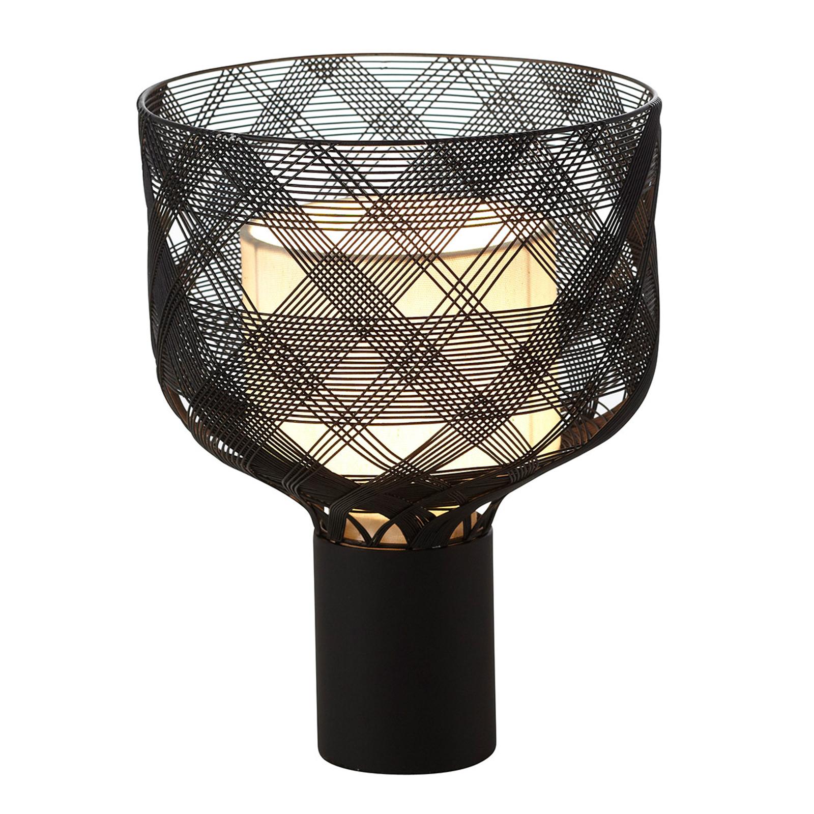 Forestier Antenna S tafellamp 20 cm zwart