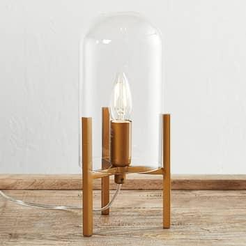 By Rydéns Smokie bordlampe, guld