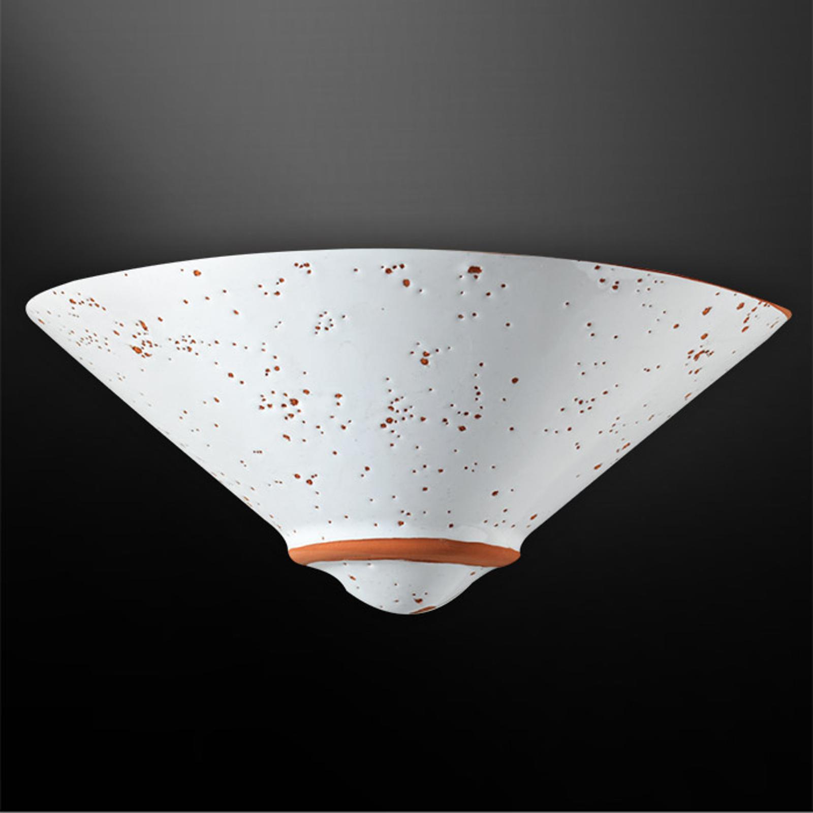 Lampa ścienna CAROLINE, terakota