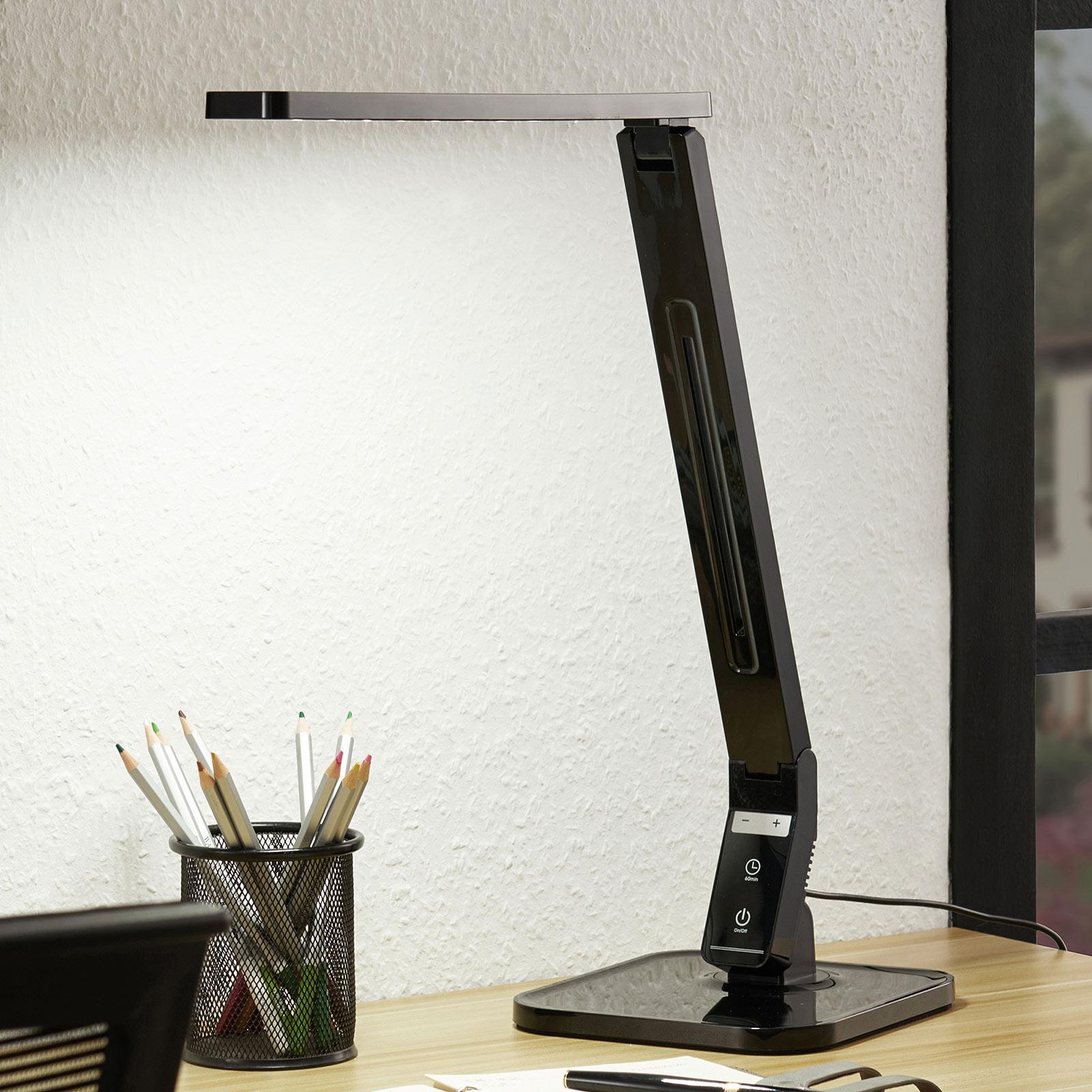 Arcchio Liak -LED-pöytälamppu 6000K, himmennys