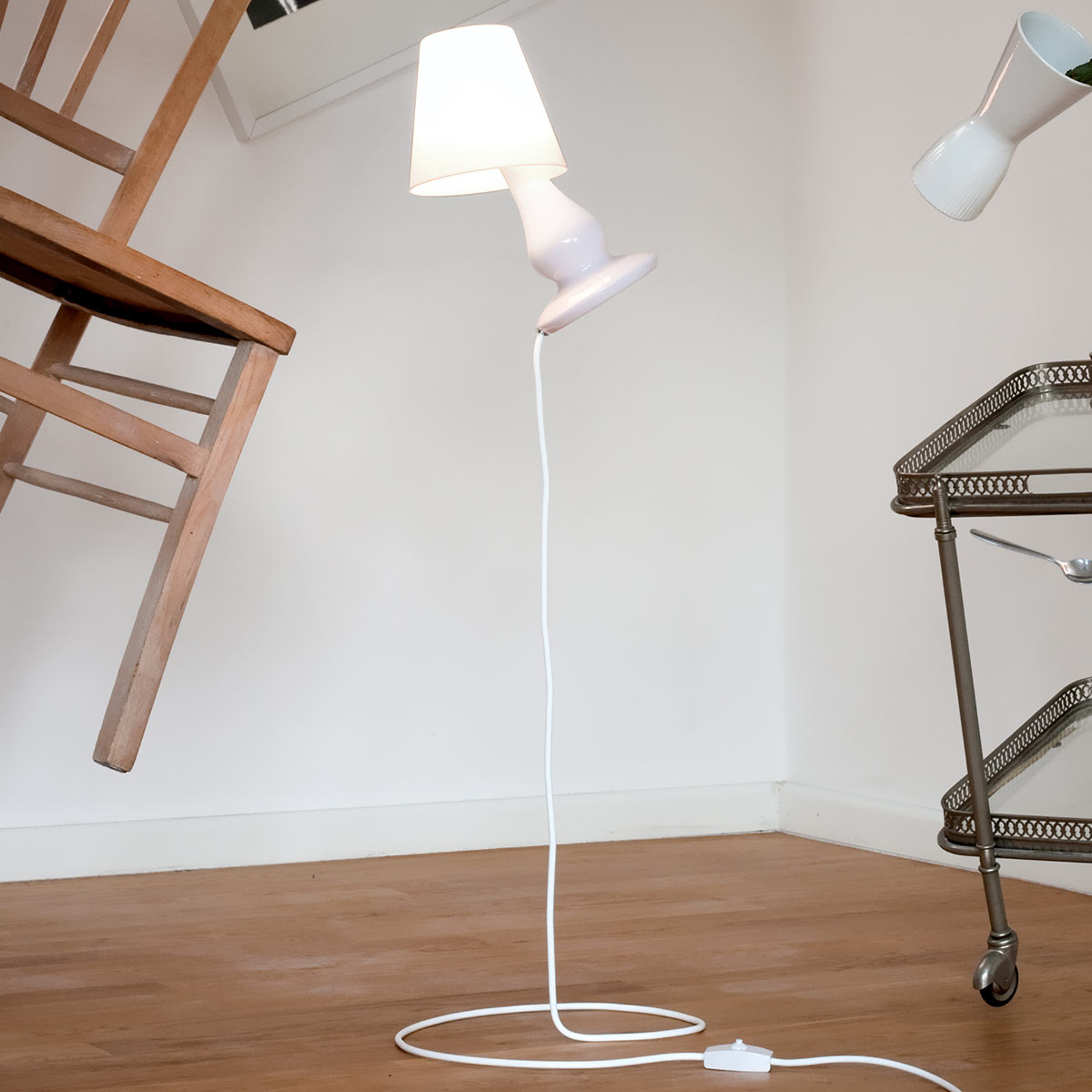 next Flapflap Floor - designer-gulvlampe