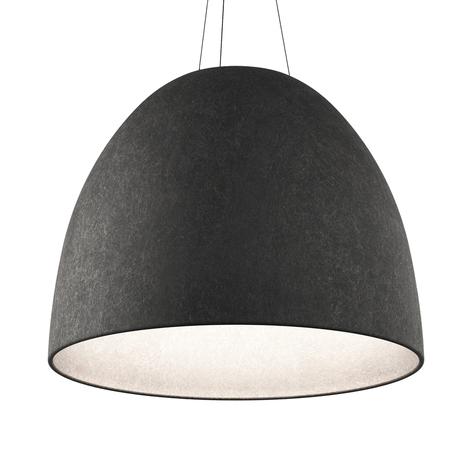 Artemide Nur 1618 Acoustic LED závěsné světlo šedé
