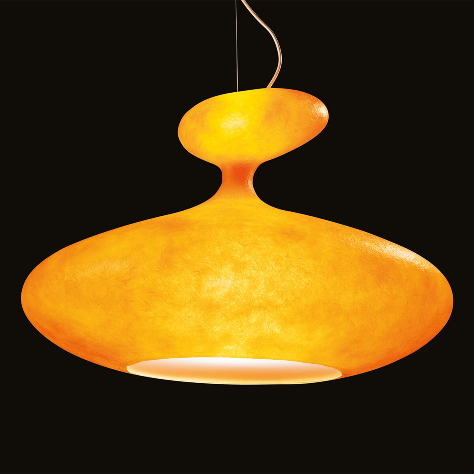 Kundalini E.T.A. Sat voluminöse Hängelampe orange