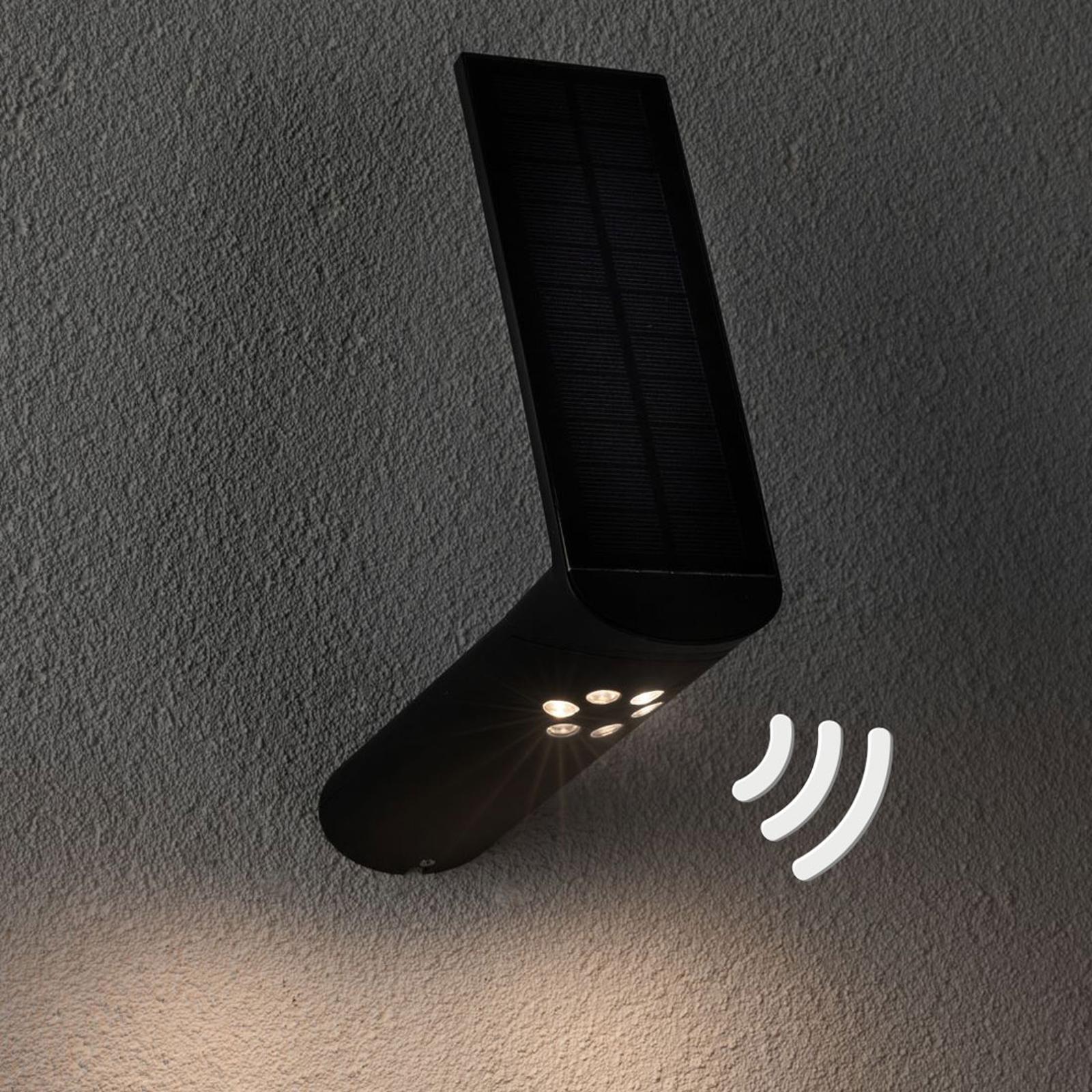 Paulmann applique ext solaire LED Ilias anthracite