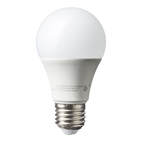 Ampoule LED E27 6W Smart-Tuya A60 RGBW