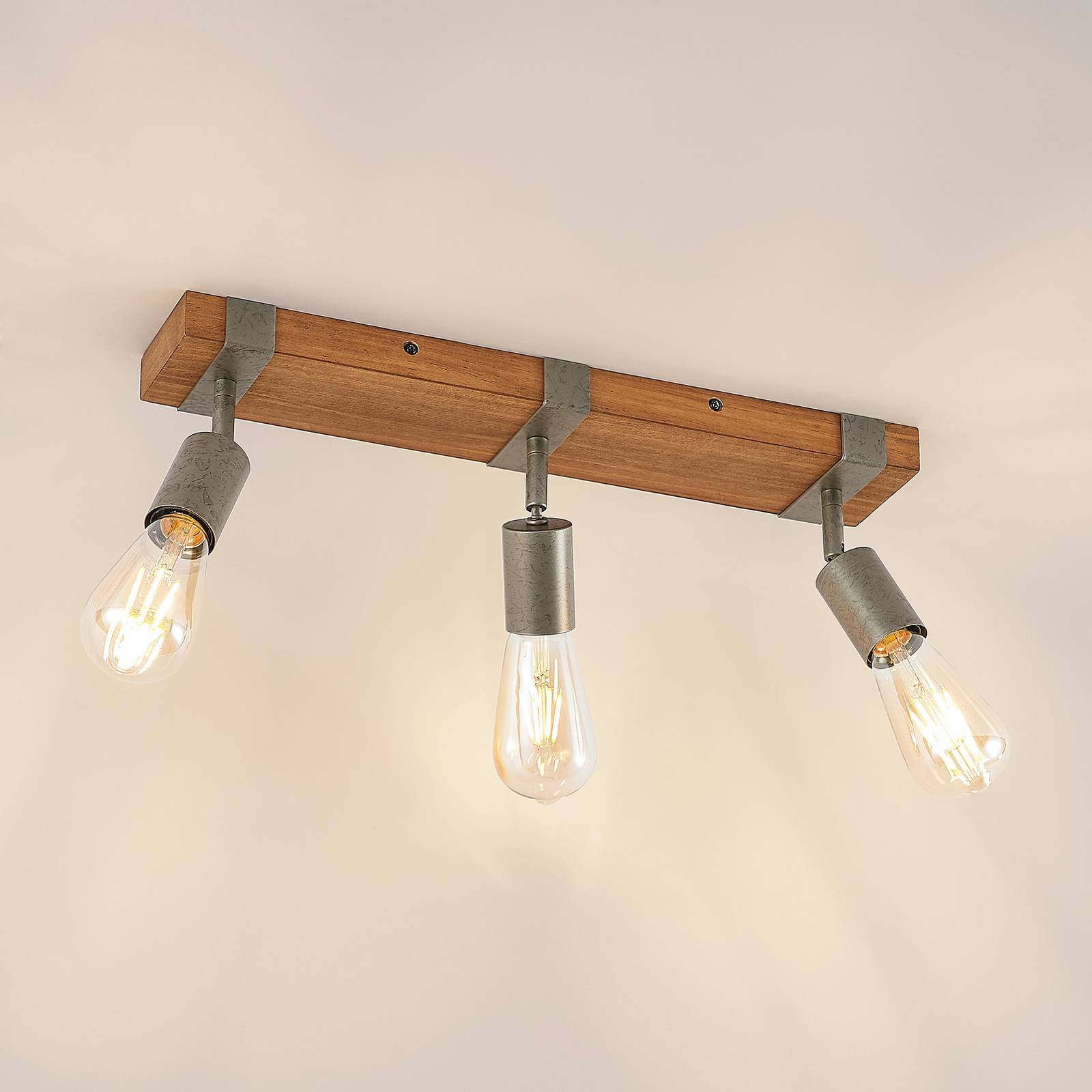 Lindby Quitana spot soffitto 3 luci