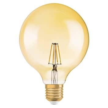 LED žárovka Globe zlatá E27 2,5W teplá bílá 220 lm