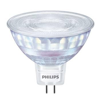 Philips LED-reflektor GU5,3 7 W, dæmpes, WarmGlow