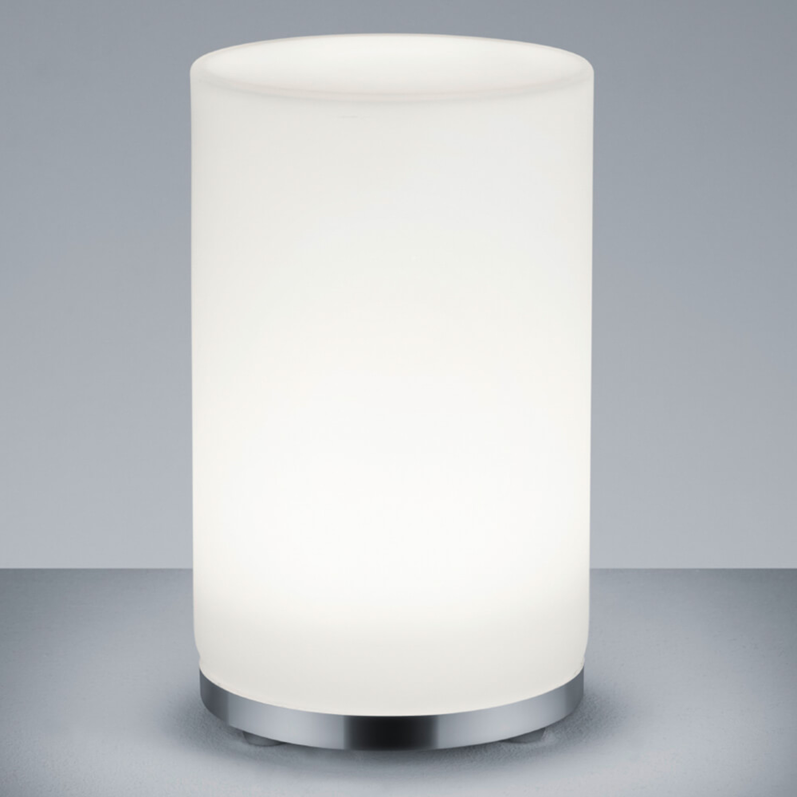 RGBW-LED-bordlampe John sylinderform fjernkontroll