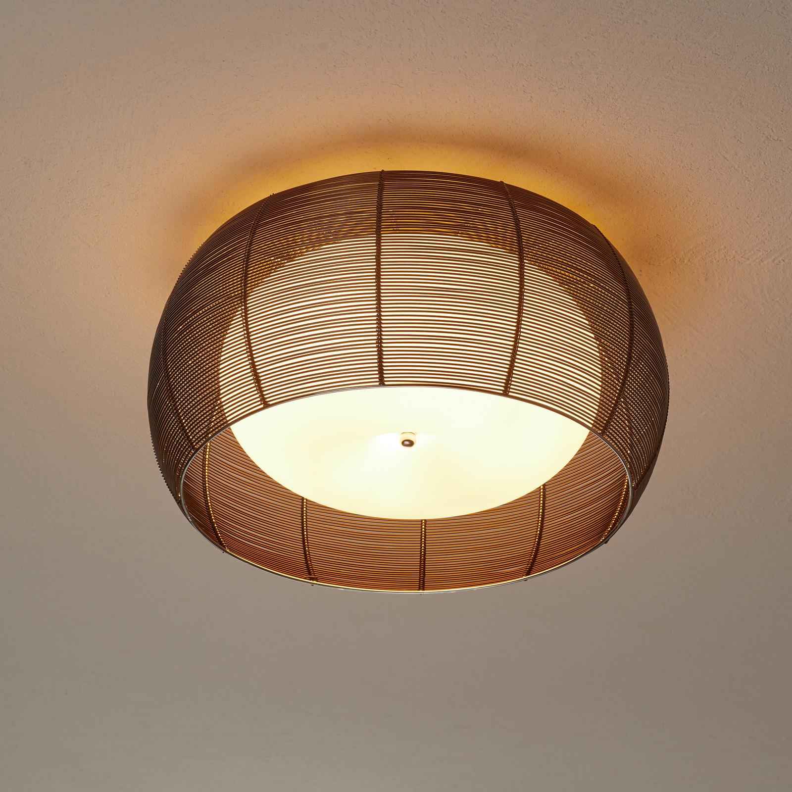 Hengelampe Relax, 1 lyskilde, 40 cm bronse | Lampegiganten.no