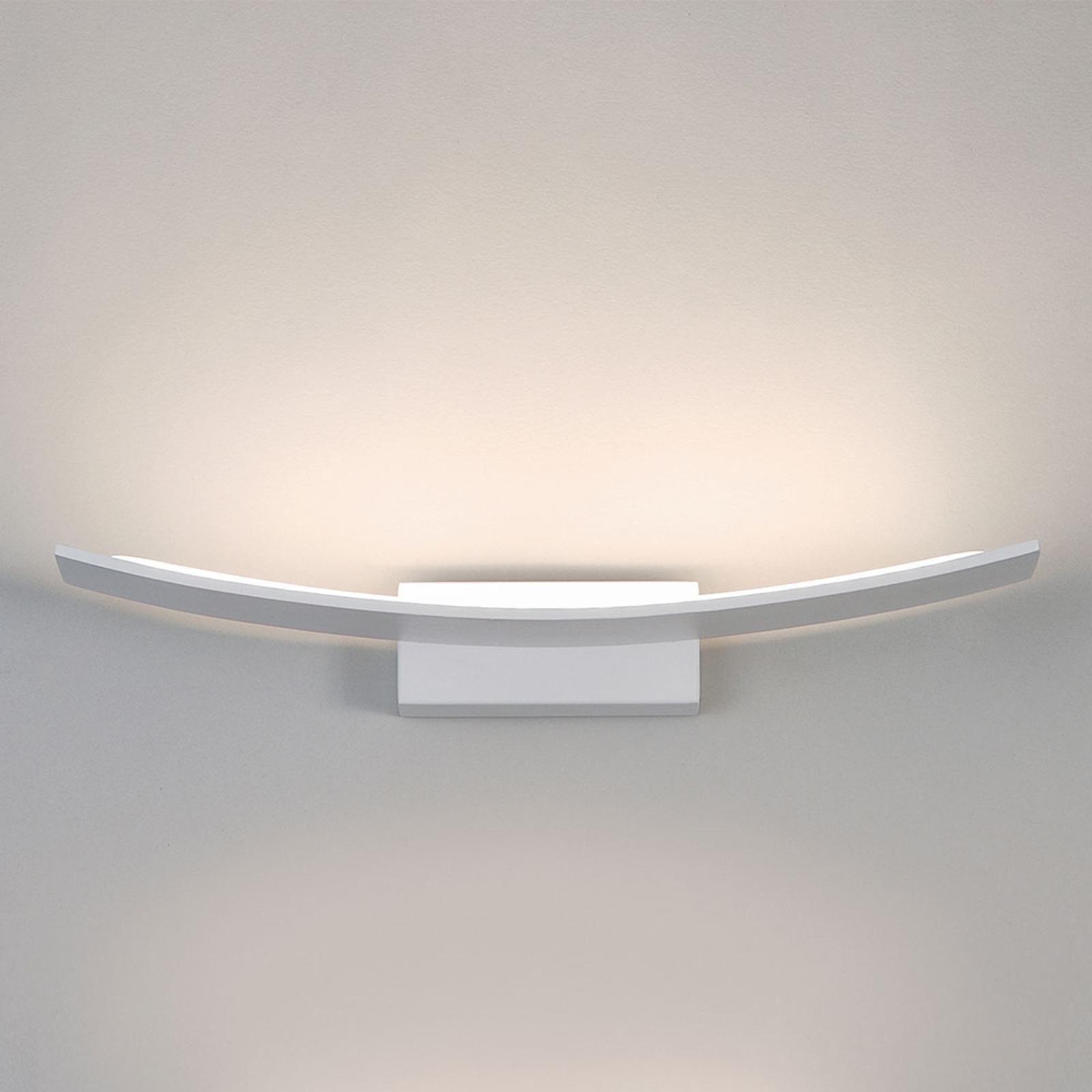 Applique LED Pluma, bianco