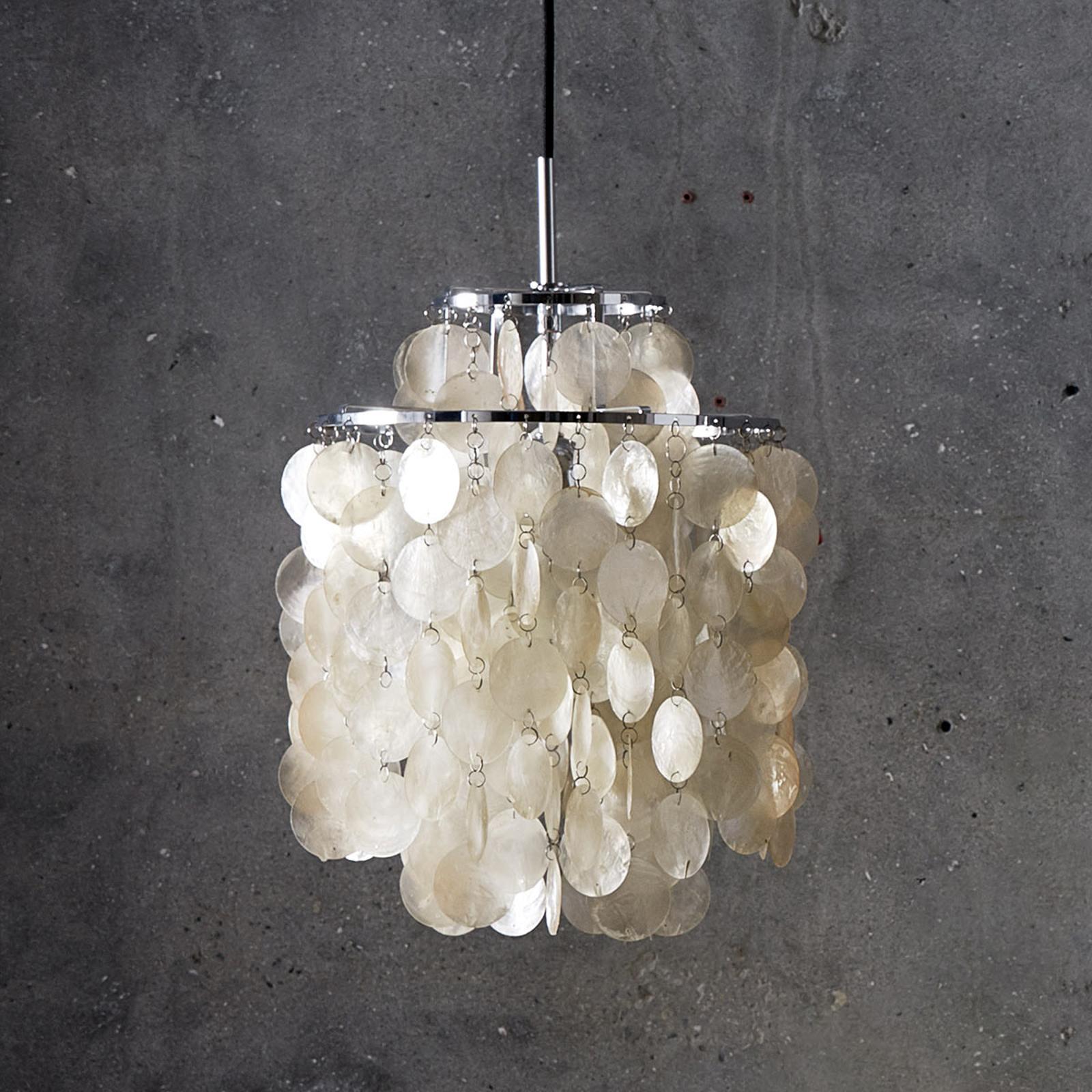 VERPAN Fun 2DM - lampa wisząca z masy perłowej