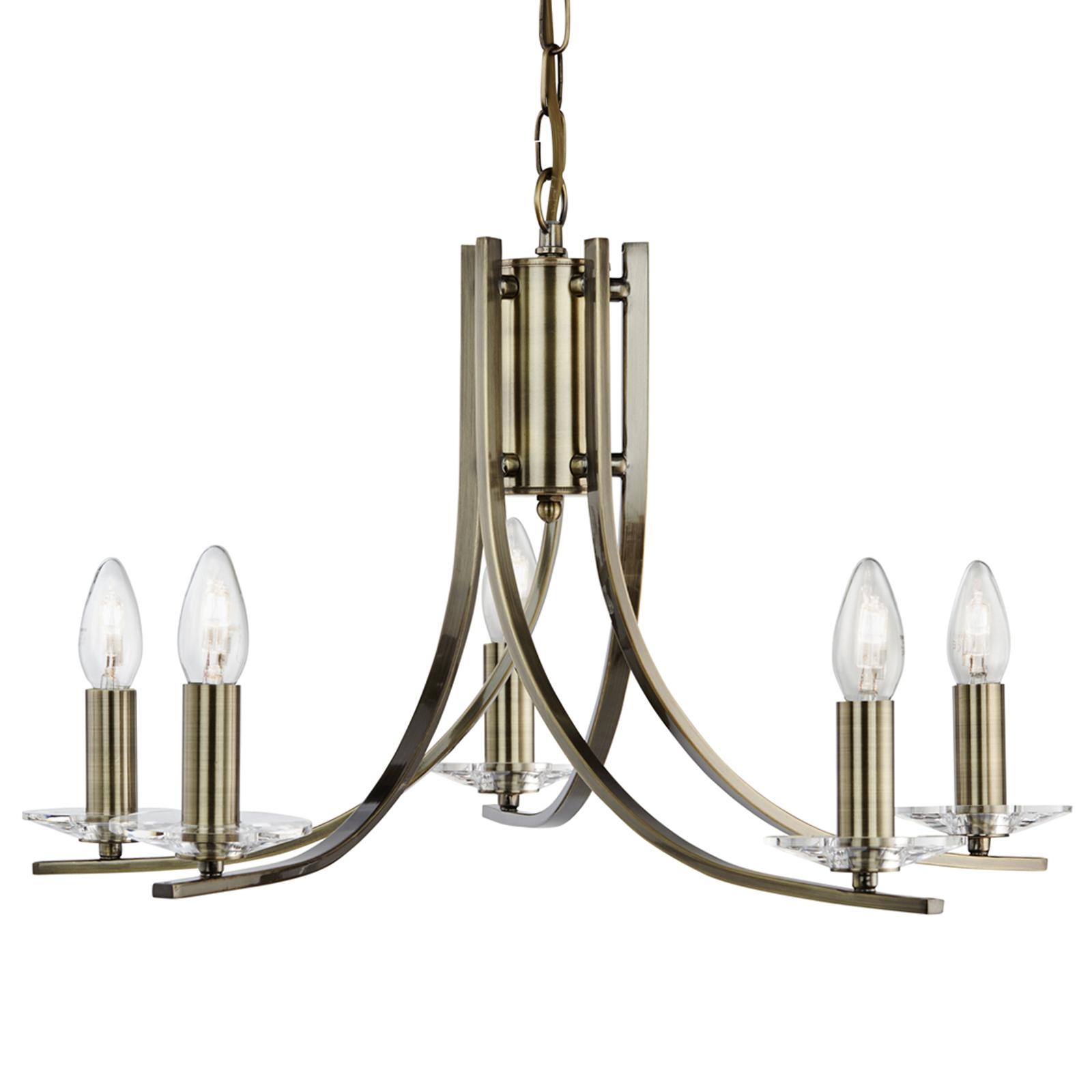 Acquista 5 luci lampada a sospensione Ascona