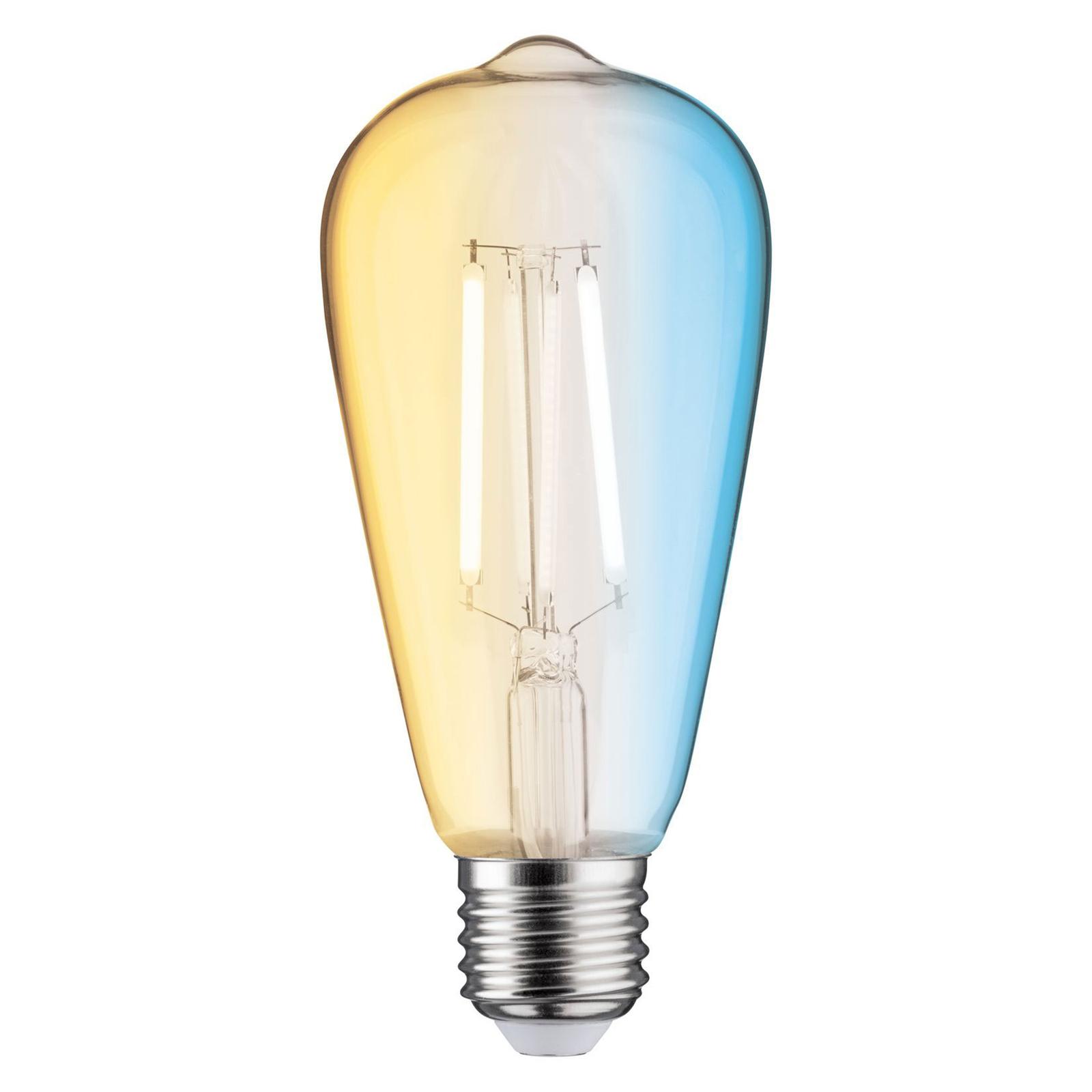 Paulmann żarówka rustykalna LED E27 7W Zigbee, CCT