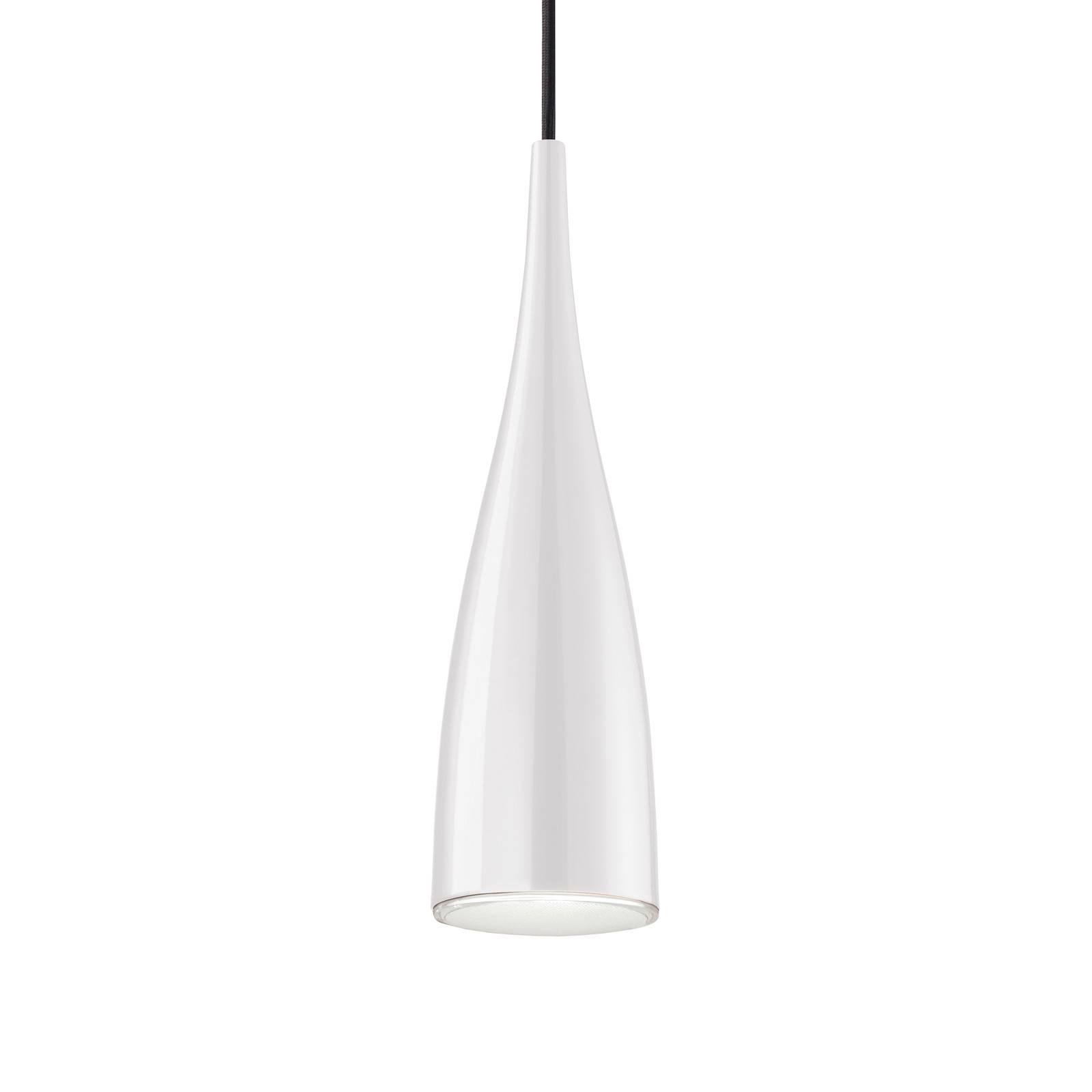 Grok Clear lampa wisząca klosz biały przezroczysty