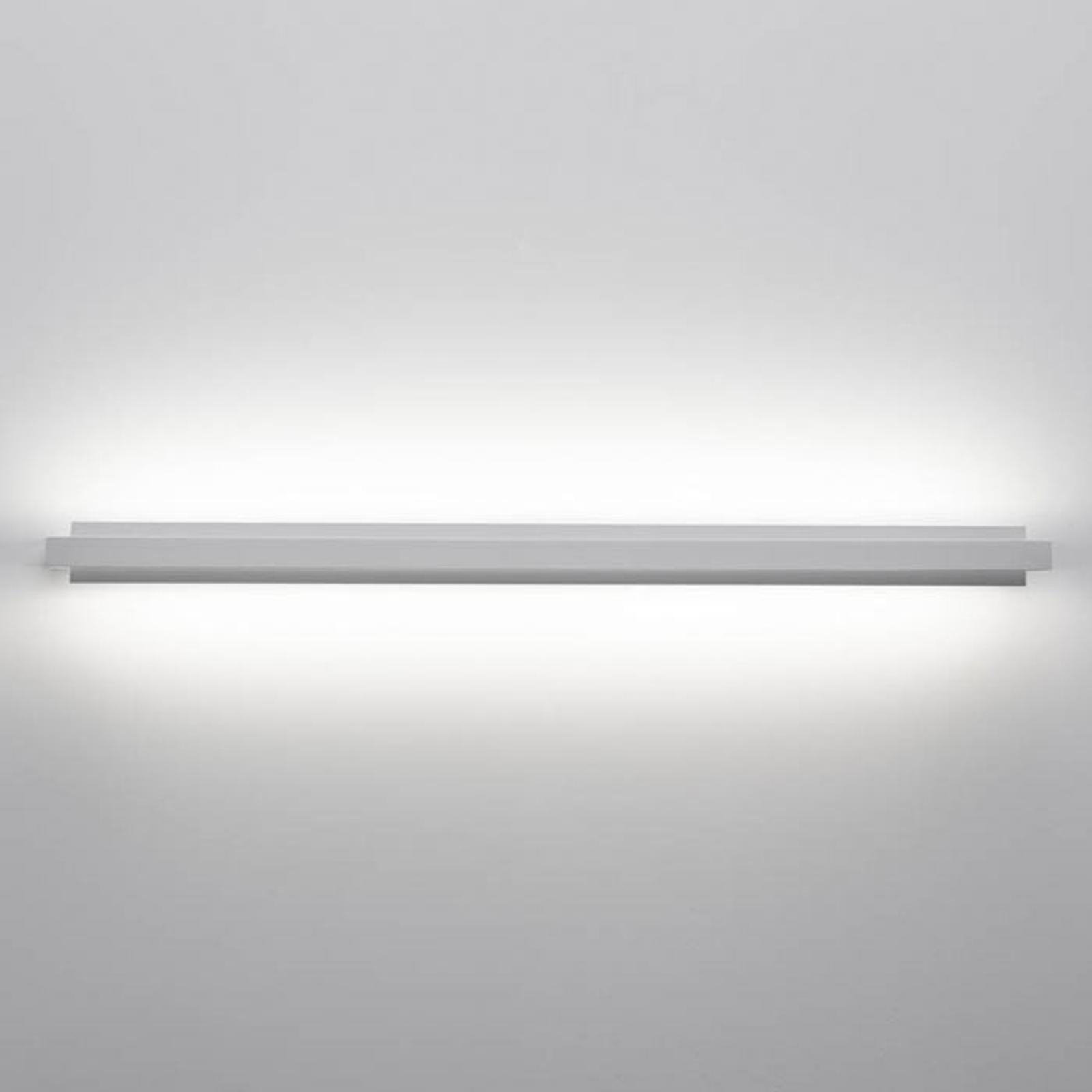 LED wandlamp tablet W1, breedte 66 cm, wit