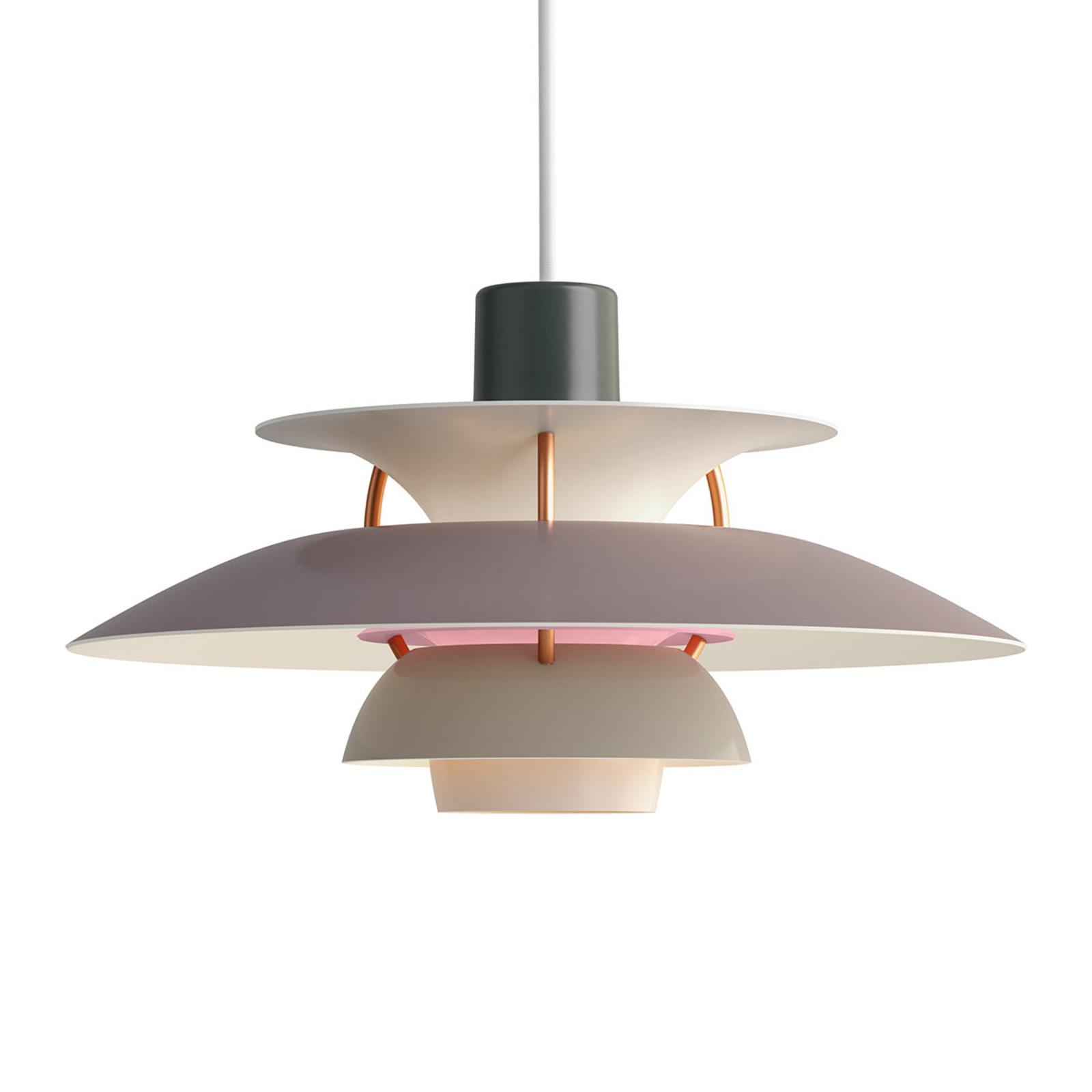 PH 5 Mini - Deense designer hanglamp, grijs