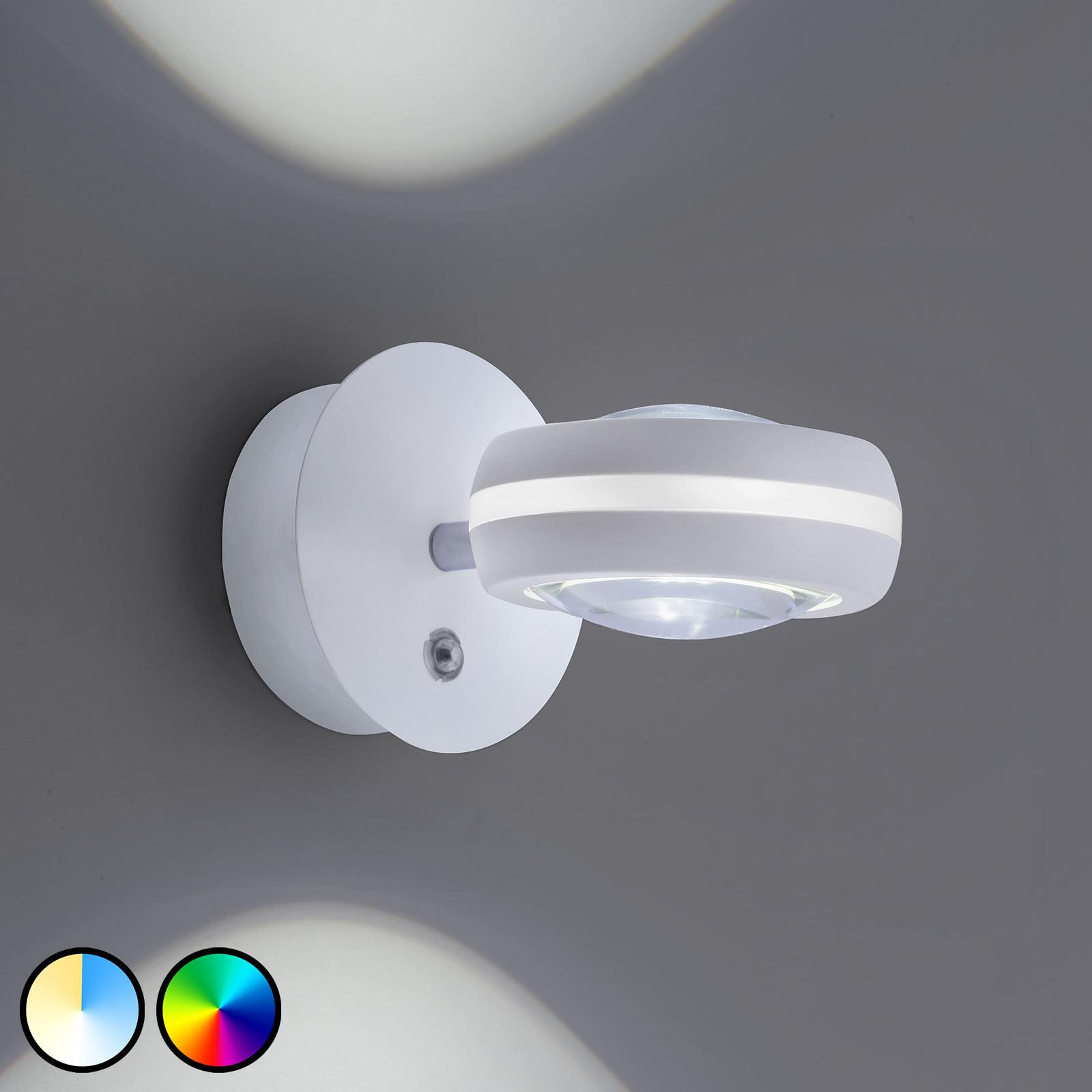 Trio WiZ Vista LED-vegglampe, hvit