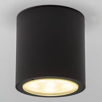 Rund LED loftspot Meret til udendørs brug, IP54