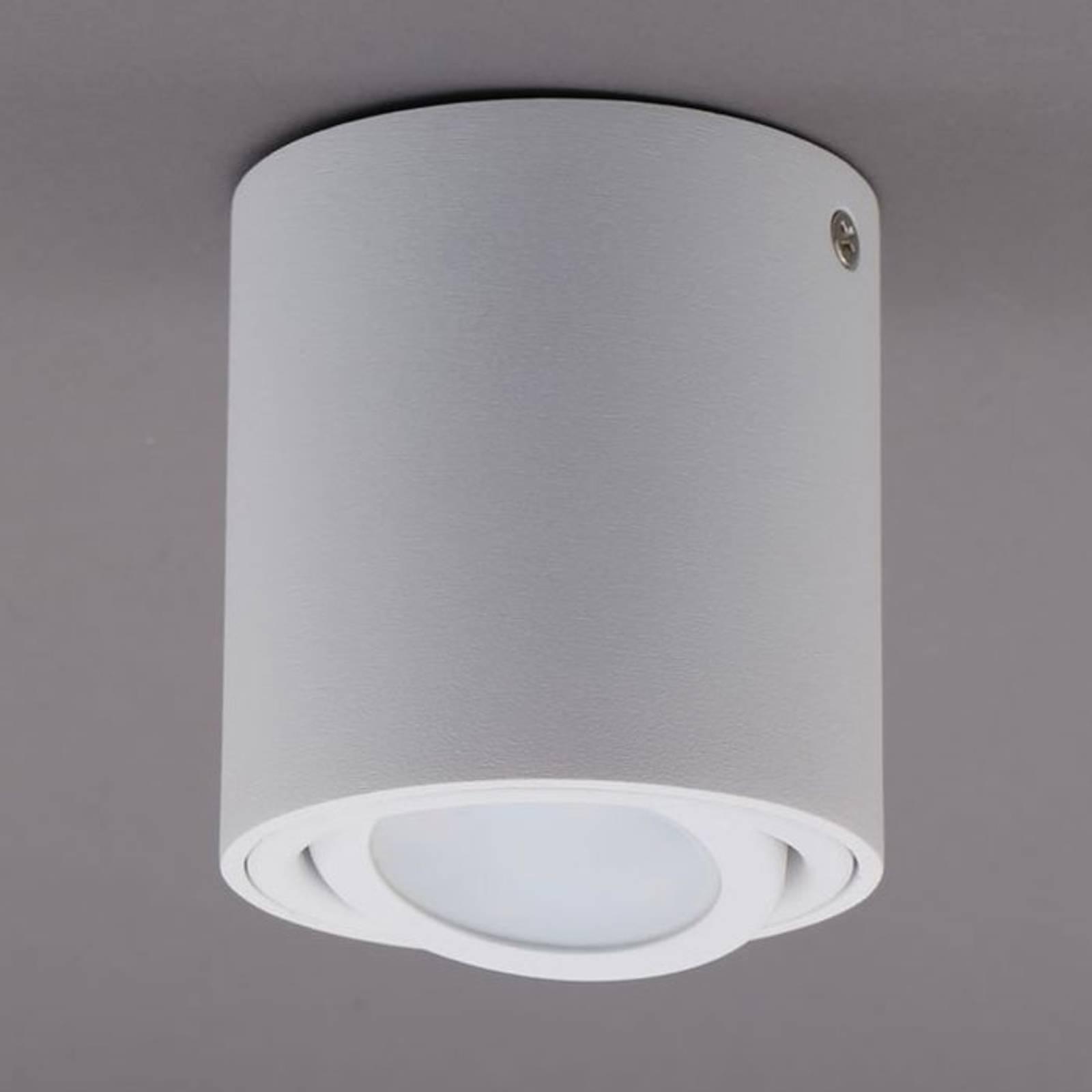 LED plafondlamp 7119 met GU10 LED, wit
