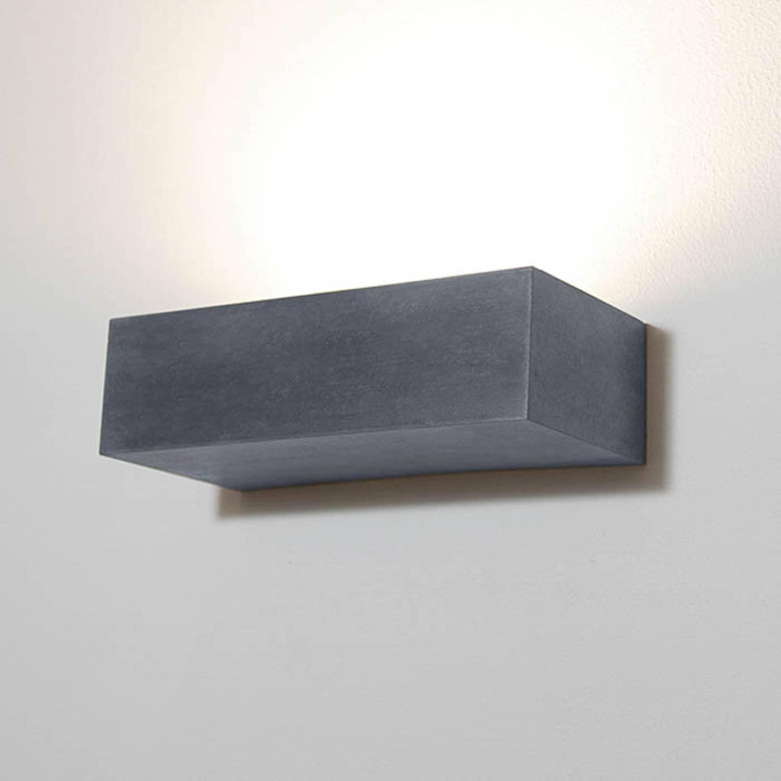 LED-Außenwandleuchte 1091 rechteckig, schwarz