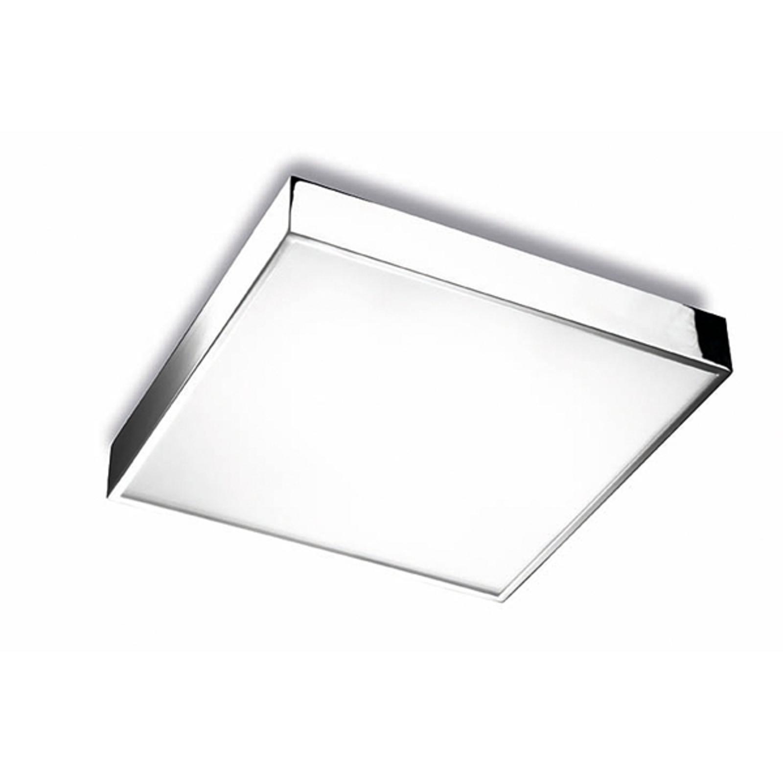 Apolo badeværelses-/loftlampe IP44, 35 cm, krom