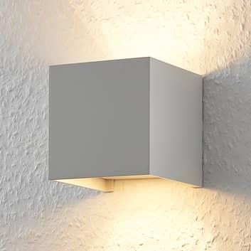 Würfelförmige LED-Wandleuchte Zuzana, G9 dimmbar