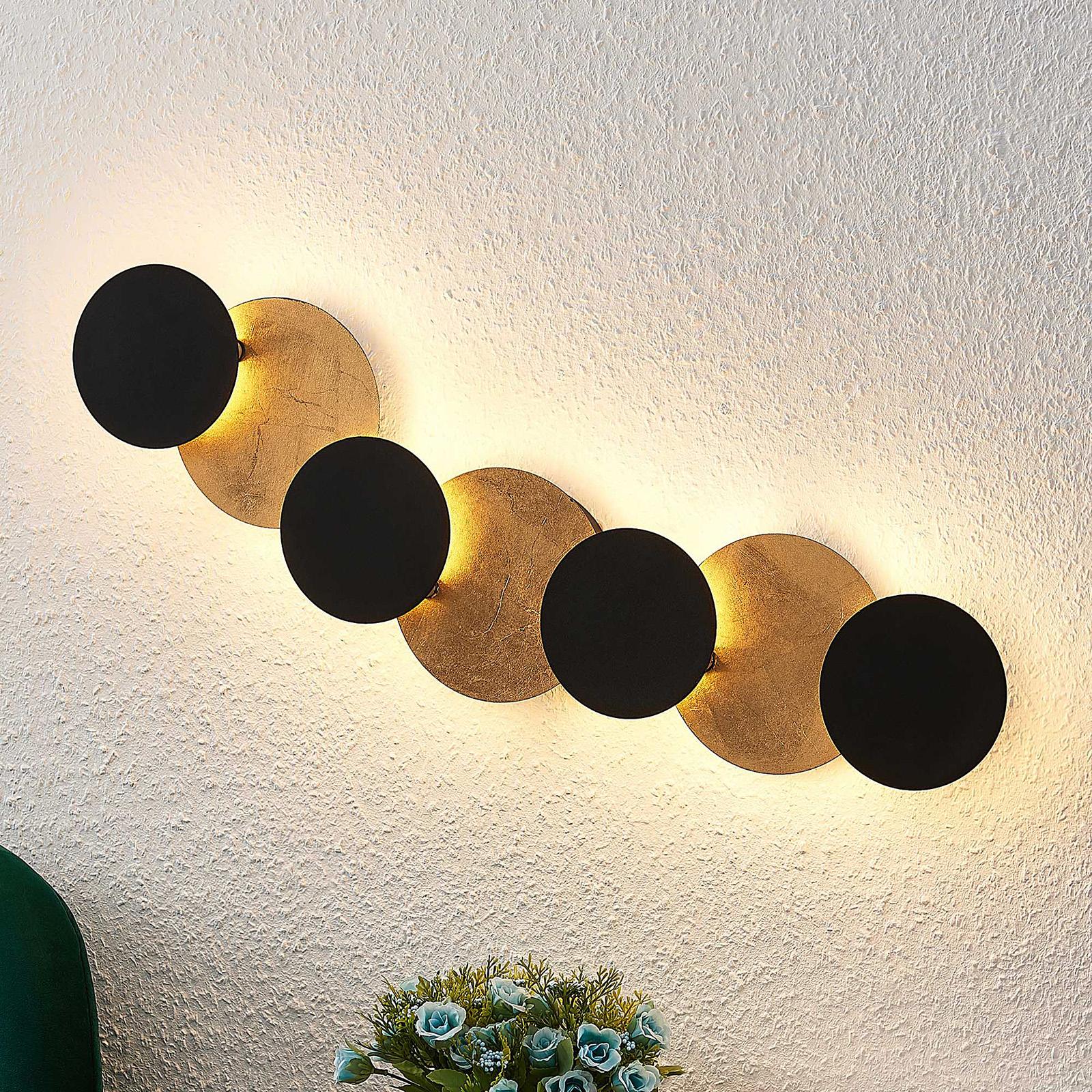 Lindby Grazyna kinkiet LED, 7-punktowy