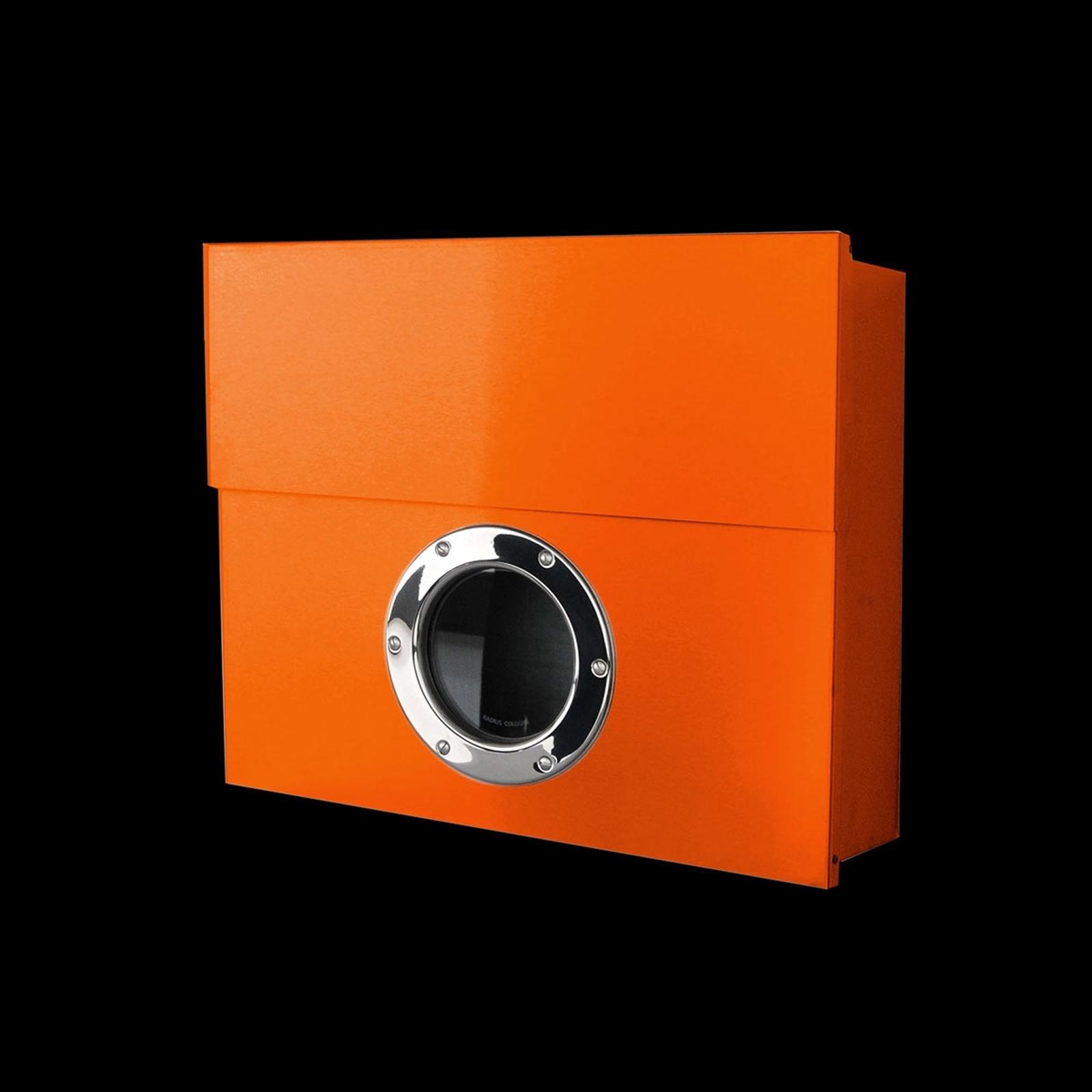 XXL vægpostkasse Letterman, orange