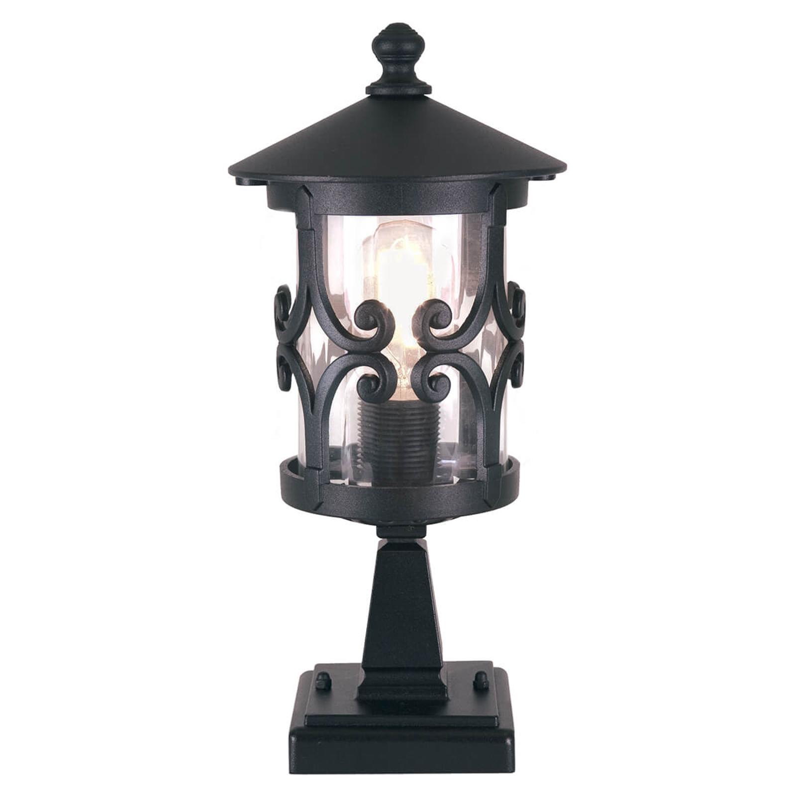Dekorativ sockellampa Hereford