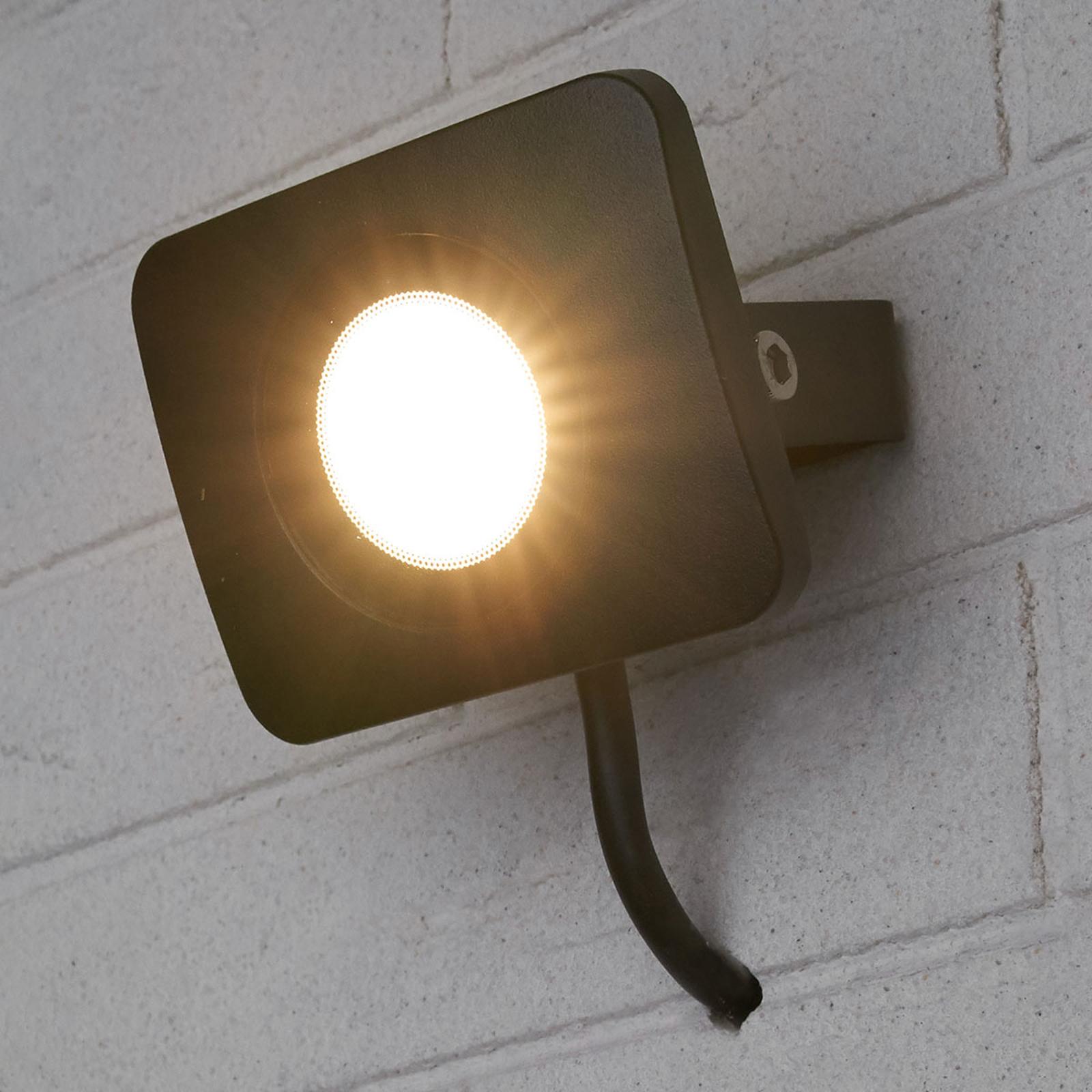 LED-uteveggspot Duke i aluminium, 10W