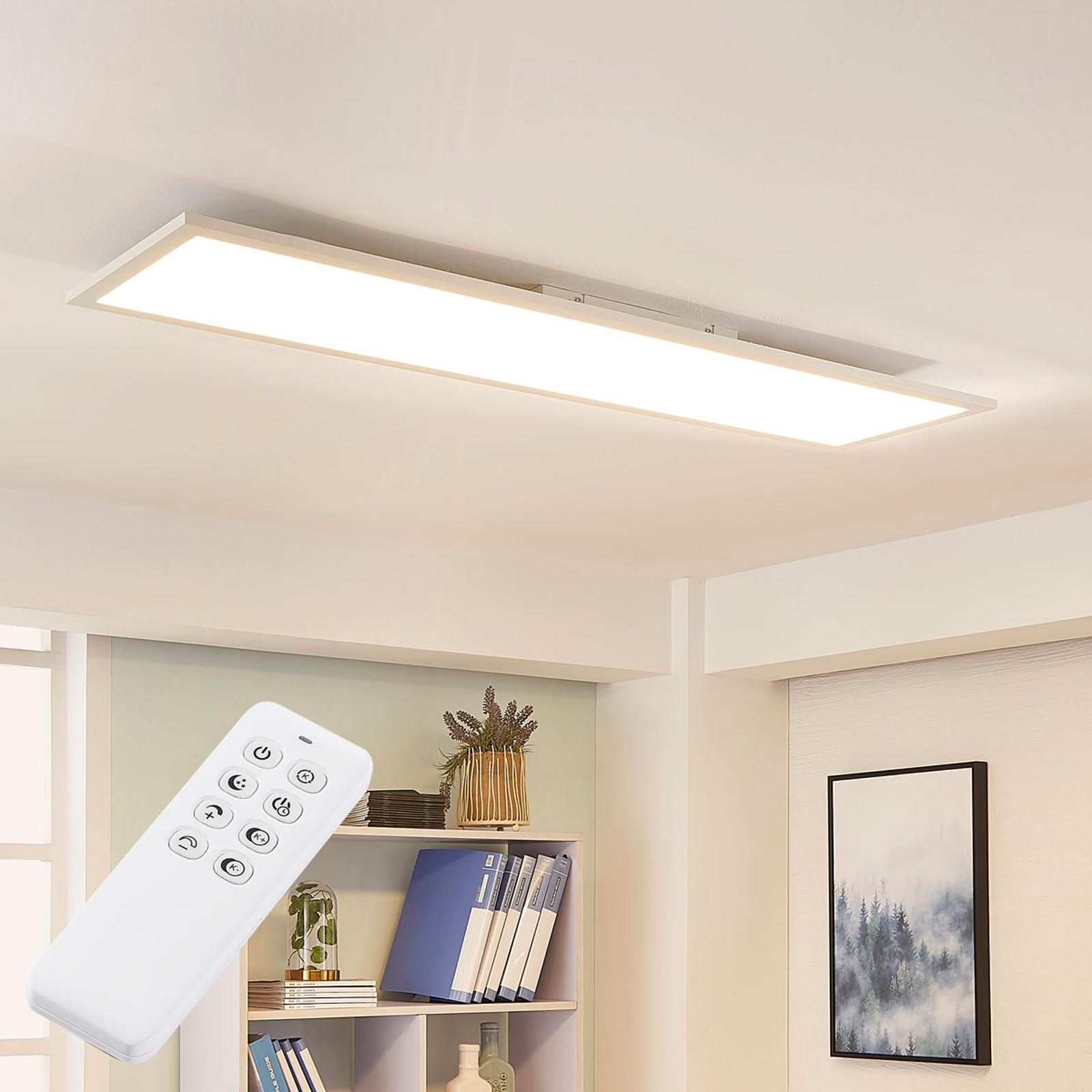 Arcchio Lysander LED-panel CCT 119 cm 36 W, hvid