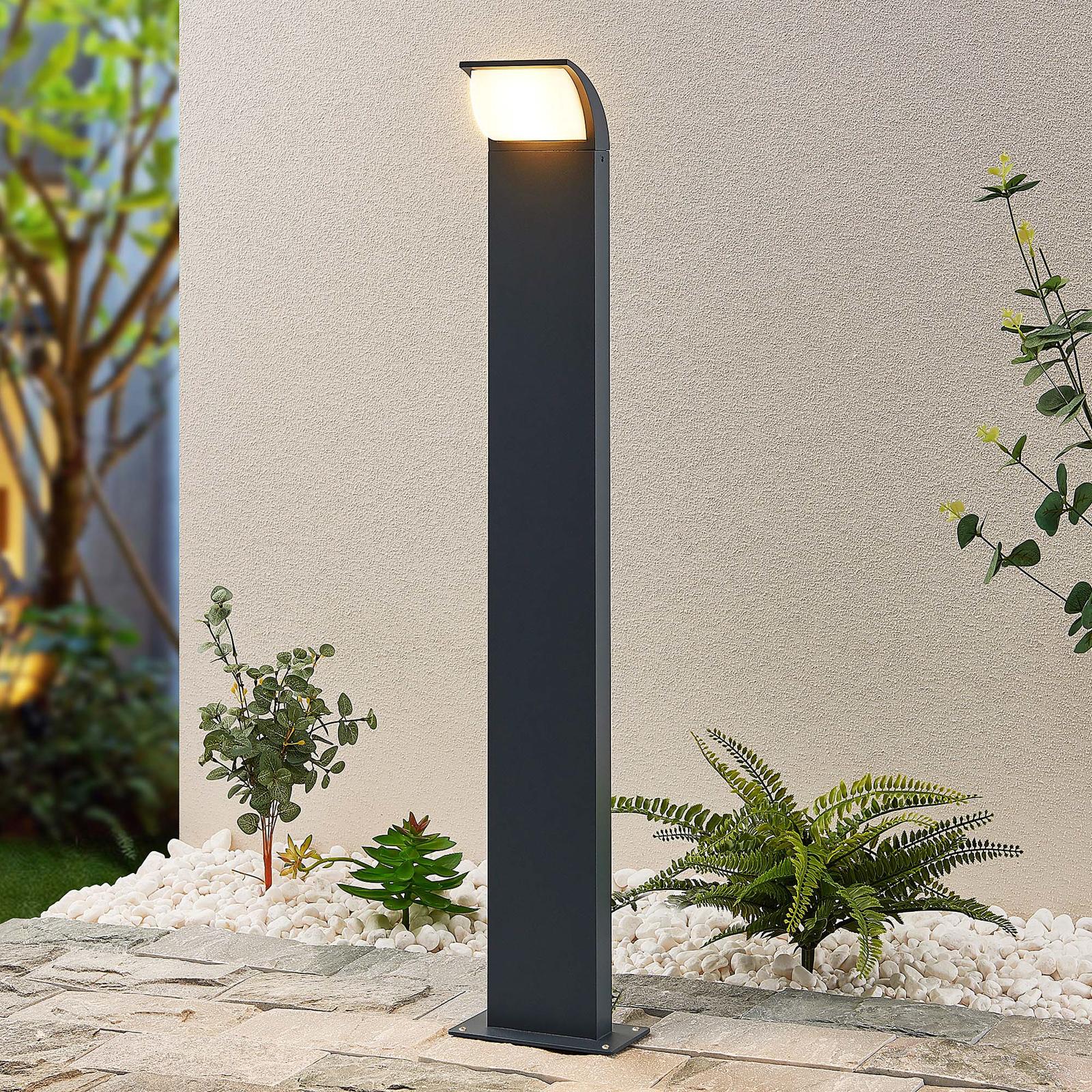 Lucande Tinna -LED-pylväsvalaisin, 80 cm