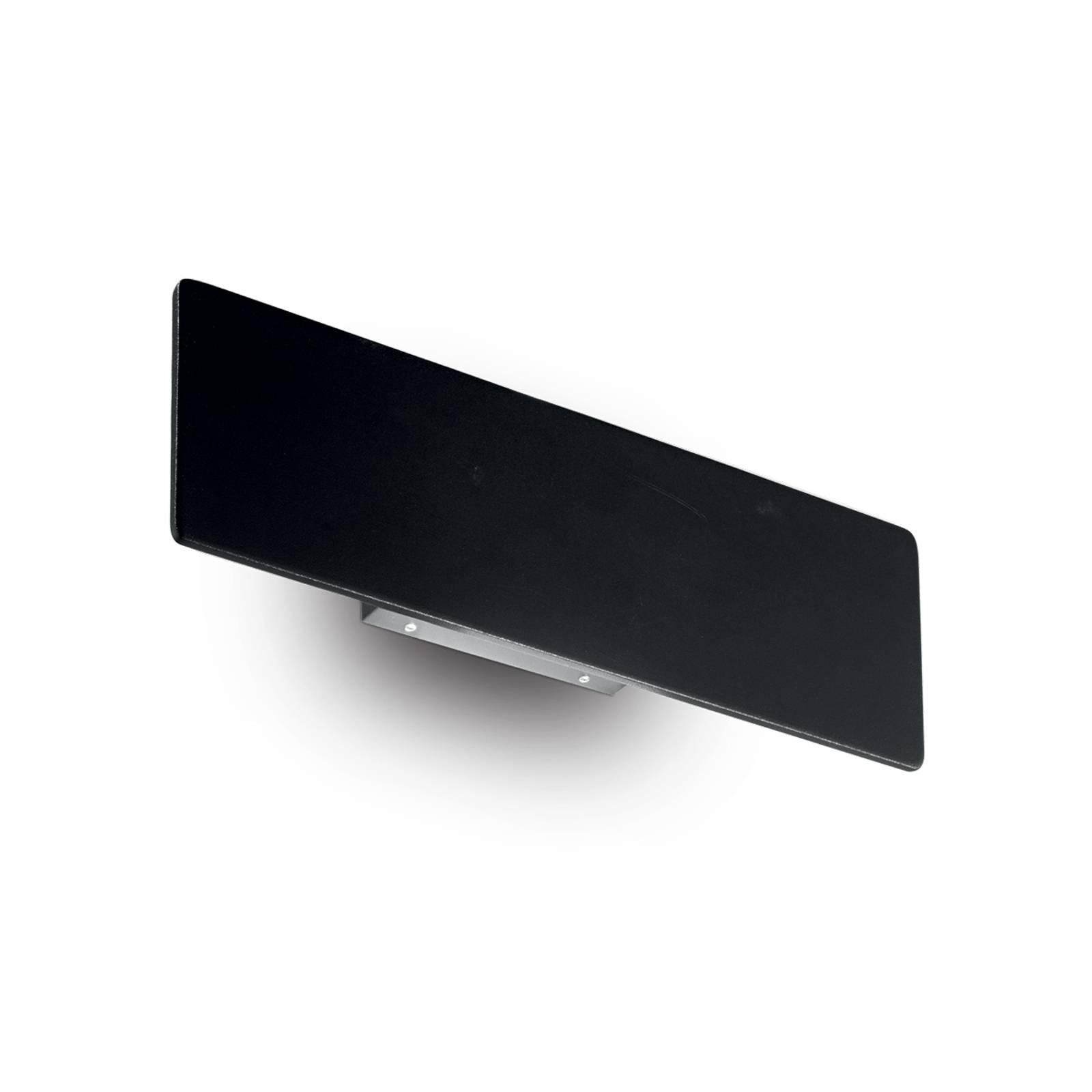 LED-Wandleuchte Zig Zag schwarz, Breite 29 cm