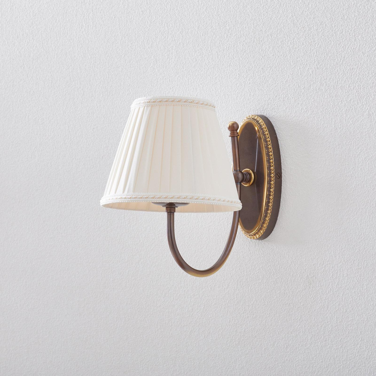 Classic - wandlamp met gebogen arm