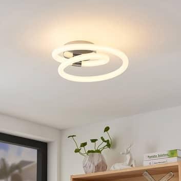 Lucande Lumka aplique LED en cromo
