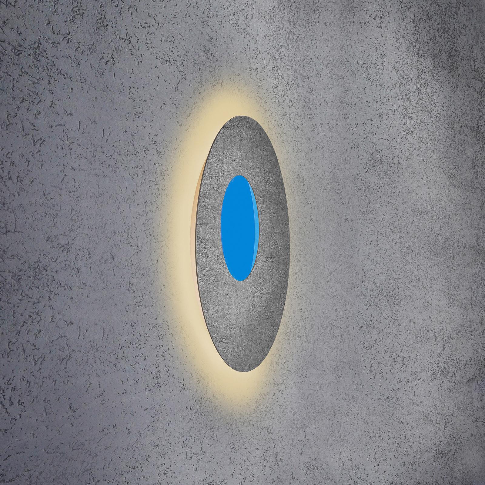 Escale Blade Open LED-Wandlampe RGB+W Beton Ø59cm