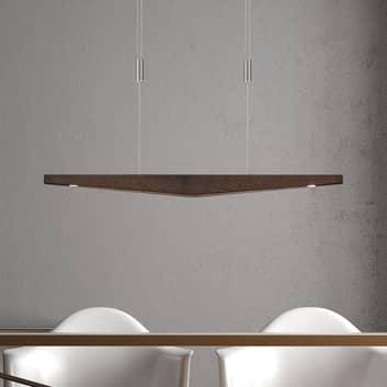 Lucande Dila lámpara colgante LED colonial 88 cm